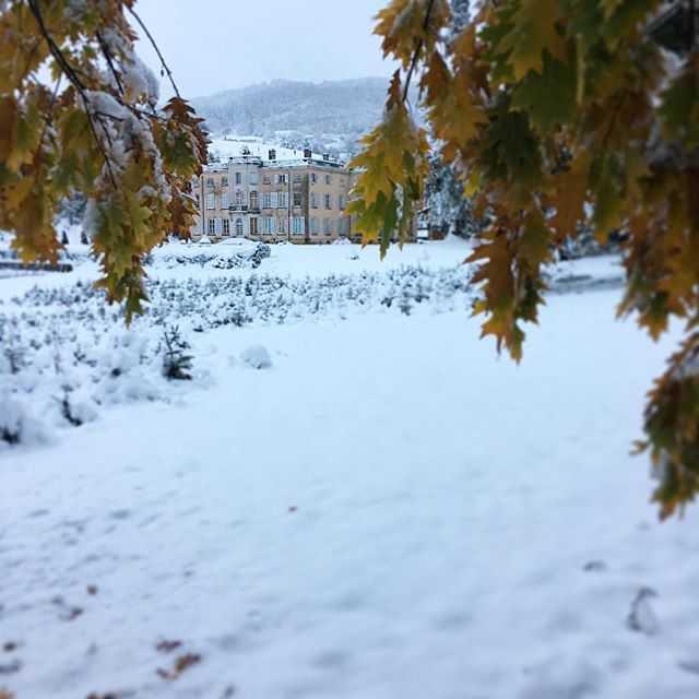 château Ronno neige